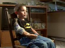 Tommy Hilbourn, 5, is as active and playful as any other kid. Unlike most boys his age, he had to lead how to be a kid all over again -- a kid with a prosthetic arm.(WRAL-TV5 News)