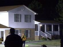 Authorities say the murders at 1112 Hodhat Drive appear to have stemmed from a domestic dispute.(WRAL-TV5 News)