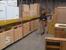 Bargain hunters can go to Habitat for Humanity's Reuse Center to spruce up their homes while helping others in the process.(WRAL-TV5 News)