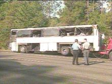 Investigators still have questions about the bus crash on I-95 last week involving students from Fayetteville.(WRAL-TV5 News)