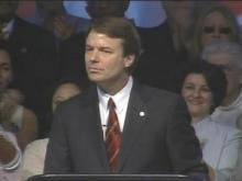 Sen. John Edwards Ends Presidential Bid: Part 4