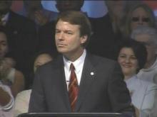 Sen. John Edwards Ends Presidential Bid: Part 4