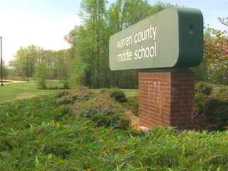 Warren County Middle School Sign
