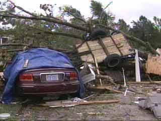 Tornado Tears Through Pender County Community