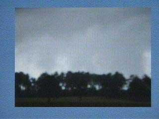 Funnel Cloud Caught On Tape In Hoke County