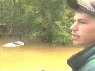 Granville Teen Glad To Be Alive After Car Plunges Into Creek