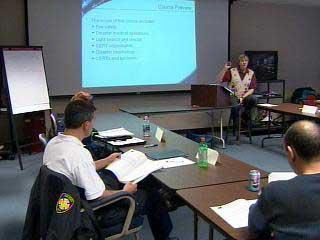 citizen corps training -- room