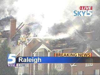 Raleigh House Fire