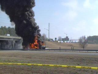 Interstate 95 Tanker Crash