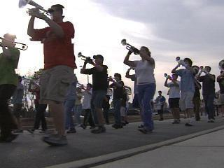 Dreams Come True For West Johnston Marching Band