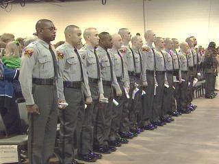 Troopers Graduation