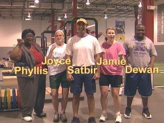 Fitness Challenge Participants