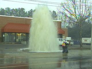 fire hydrant hit on atlantic ave