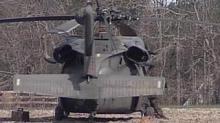 IMAGE: Black Hawk From Fort Bragg Lands In Hoke County