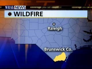 brunswick wildfire