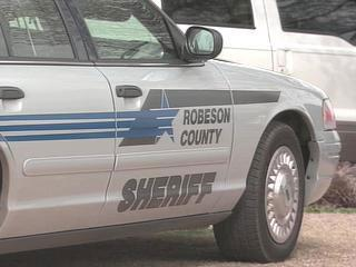 Robeson Sheriff Car