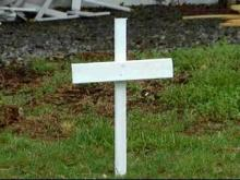 white crosses, halifax county tribute