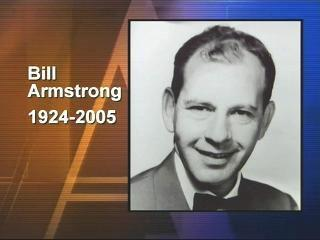 Bill Armstrong