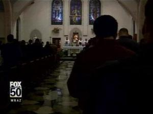 parishioners, pope funeral