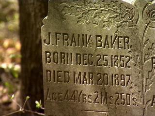john f. baker tombstone