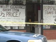 Jewelry Store Crime Scene