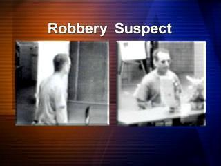 Fayetteville Robbery Suspect