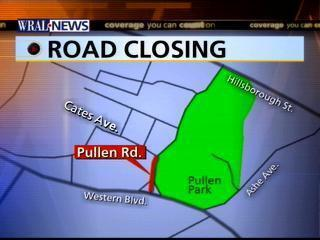 pullen road construction