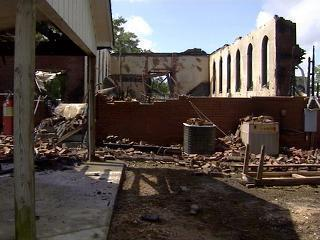 Nash County Church Left In Rubbles