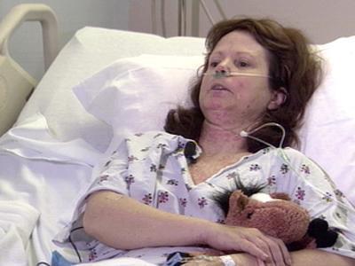 Kathleen Yaggi In Hospital