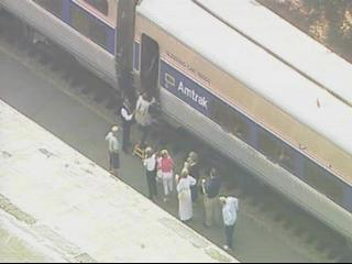 amtrak bomb threat southern pines