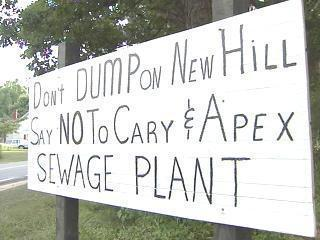 New Hill Sign