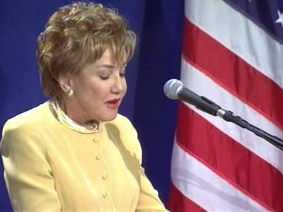 Elizabeth Dole Addresses BRAC Commission
