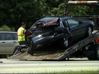 rear-ended car