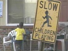 mcarthur apartment, children signs