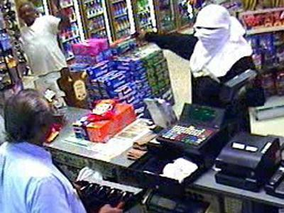 Police Search For Masked Robbery Suspect