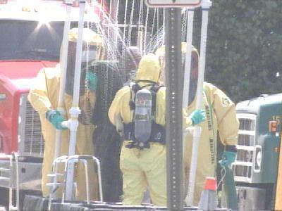 Workers Decontamination