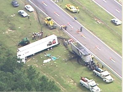 US 64 bypass accident