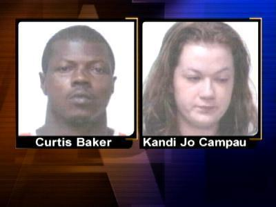 Curtis Baker and Kandi Jo Campau