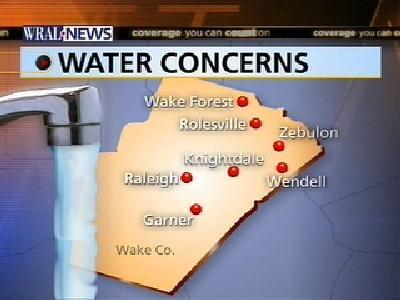 Are Water Restrictions Being Enforced Outside Raleigh?