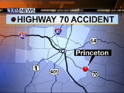 map of princeton highway 70 wreck