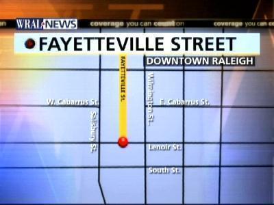Fayetteville Street Map