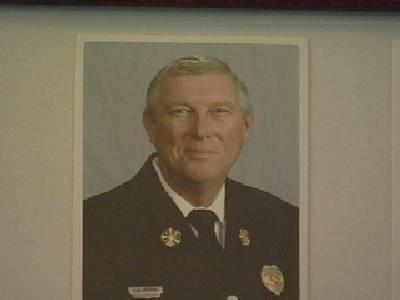 Carrboro Fire Chief Rodney Murray