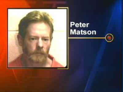 Peter Matson pleaded guilty to second-degree murder in the January 2006 strangling death of his girlfriend.