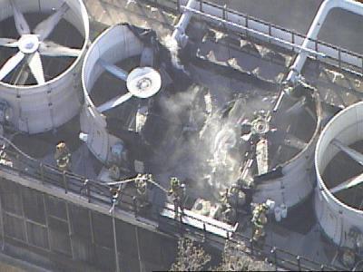 UNC Chiller Plant Fire