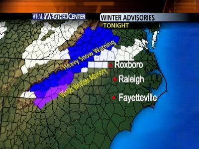Weather Advisories - Sat. Night