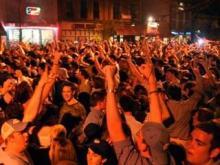 UNC Fan Celebration