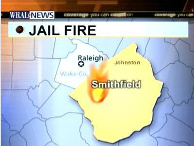 Johnston County Jail Fire Map