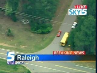 North Raleigh School Bus Ax