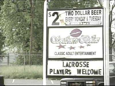 Charlotte Lacrosse Sign