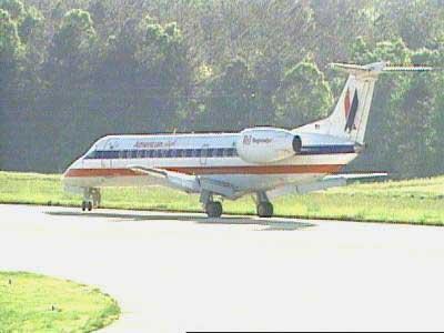 Airplane Off Runway